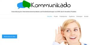 Saarbrücker Reihe PM: Projekt KOMMUNIKADO Eventabend