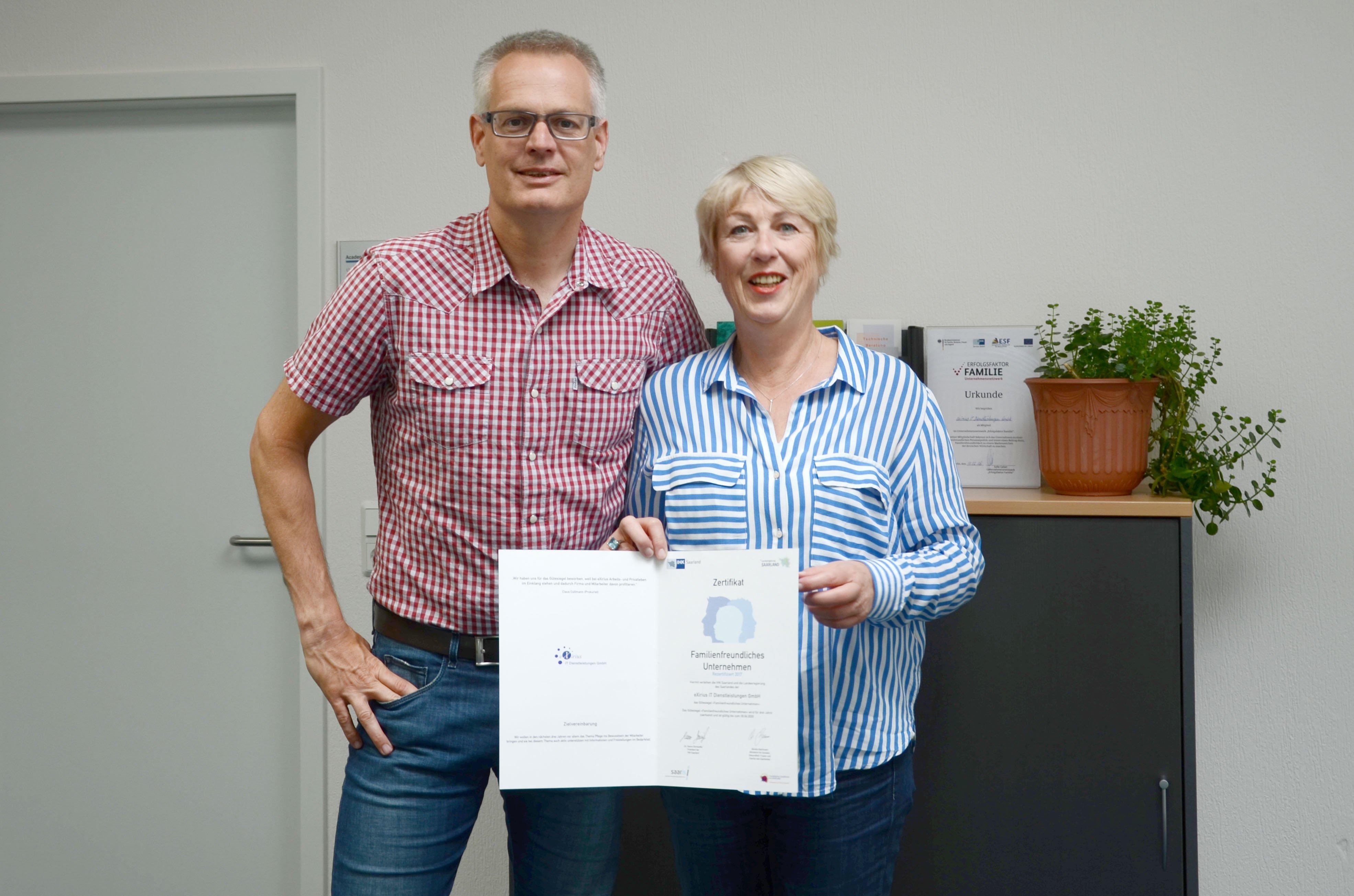 """Zertifizierung als """"familienfreundliches Unternehmen"""""""