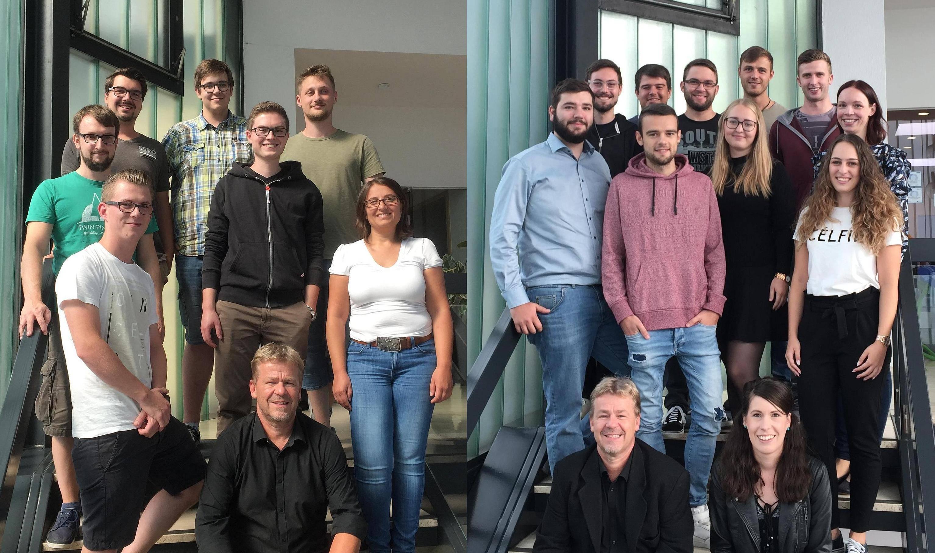 Wir freuen uns über 16 neue Inhaber des Basiszertifikats