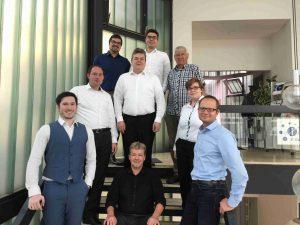 Erste Inhouse-Zertifizierung nach ICB4 bei eXirius in Eppelborn