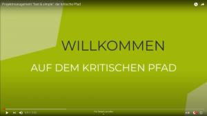 "Read more about the article Projektmanagement ""fast & simple"": der kritische Pfad"